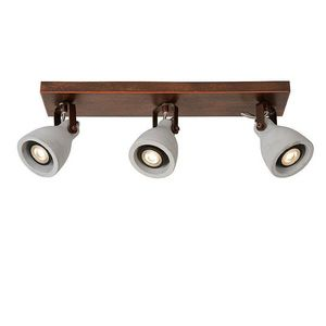 LUCIDE - spot triple linéaire concri led - Light Spot