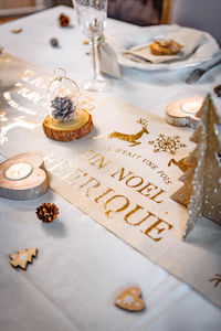 Artyfetes factory - hygge - Christmas Table Decoration