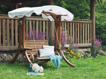BELIANI - balancelle de jardin - Swinging Chair