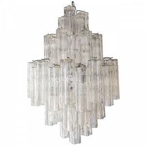 ALAN MIZRAHI LIGHTING - wm132 tronchi glass - Chandelier Murano