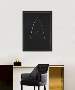 THE THIN GOLD LINE - the final frontier - Contemporary Painting