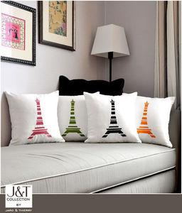 j&t collection - tour eiffel - Square Cushion