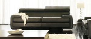 Canapé Show - canap? 3pl. grand luxe. cuir 2.5mm - 3 Seater Sofa
