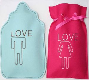 LES BOUILLOTTES DE BEA - duo saint valentin - Hot Water Bottle