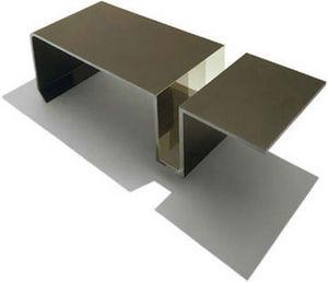 DESU Design - slot table - Rectangular Coffee Table