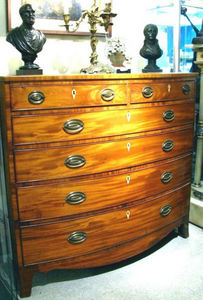 ERNEST JOHNSON ANTIQUES - federal style chest of drawers - Chest Of Drawers