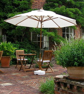 Chairs And Tables - 2.4m round parasol - Sunshade