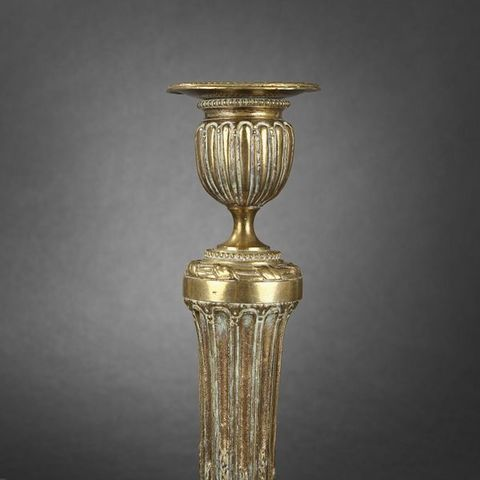 Expertissim - Outdoore garden torch-Expertissim-Flambeau d'époque Louis XVI