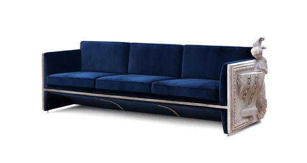 BOCA DO LOBO - 3-seater Sofa-BOCA DO LOBO-Versailles