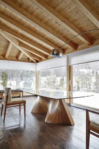 LOLA GLAMOUR - Rectangular dining table-LOLA GLAMOUR-Wave
