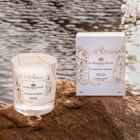 LA SAVONNERIE ROYALE - Scented candle-LA SAVONNERIE ROYALE---.Le Bassin de Neptune..
