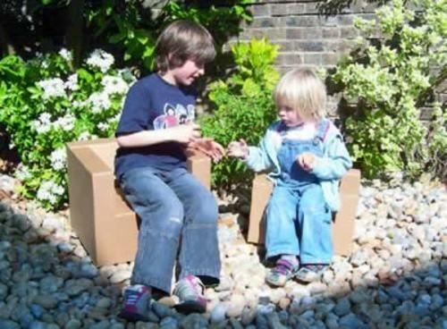 PAPERPOD - Children's armchair-PAPERPOD
