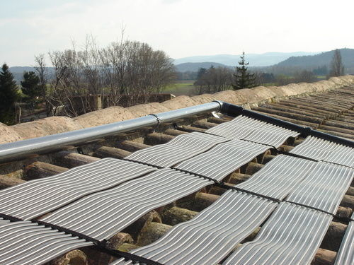 Technics & Applications - Solar pool heater-Technics & Applications-Kits standards 5m²