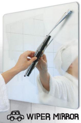 Suck Uk - Bathroom mirror-Suck Uk-WIPER MIRROR