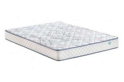 WHITE LABEL - Spring mattress-WHITE LABEL-Matelas MEKY MERINOS longueur couchage 190cm épais
