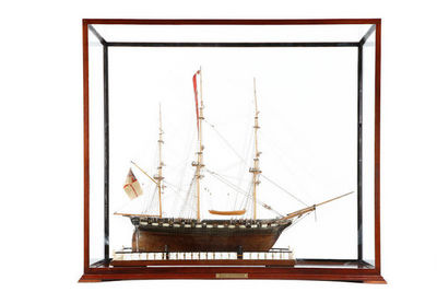 Peter Finer - Boat model-Peter Finer-H.M.S. VOLAGE