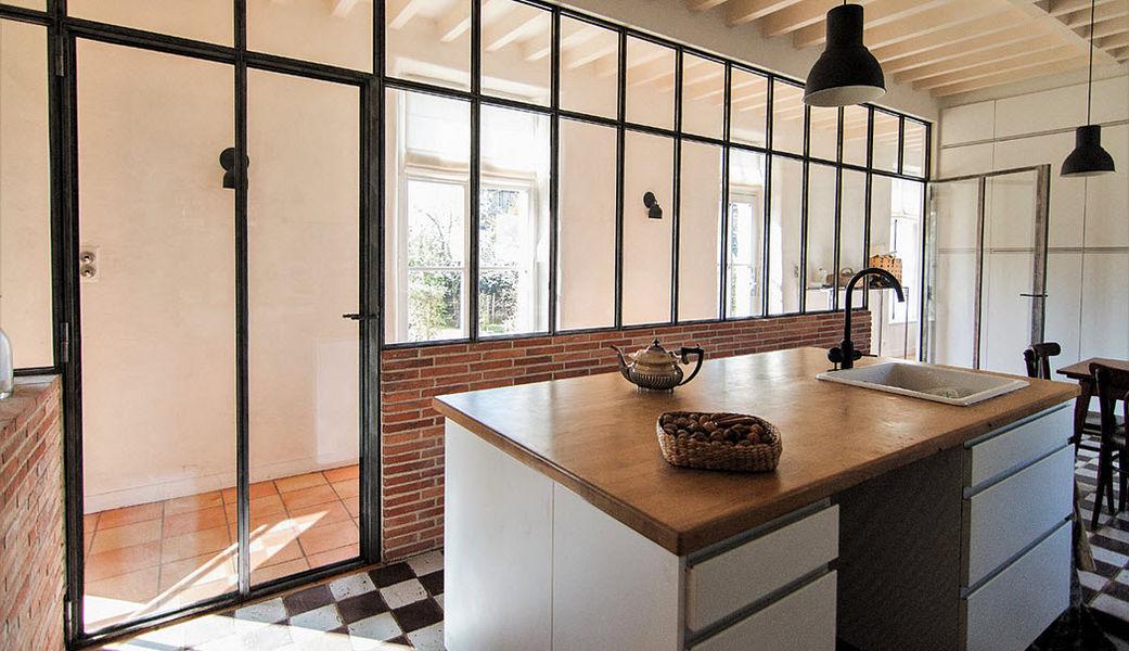 VERRIERE FACTORY Glasinnenwände: Glasdächer Fenster & Türen  |