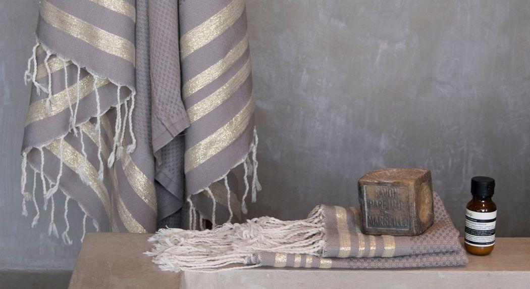 FEBRONIE Hamam Handtuch Badwäsche Haushaltswäsche  |