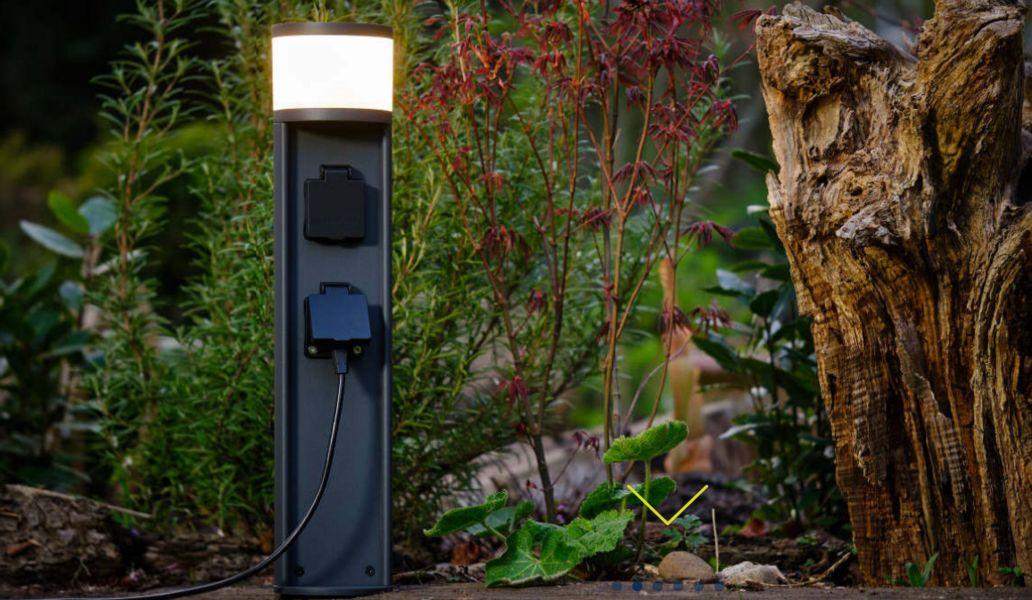 LUPIALICHT Außensteckdosen wasserdicht Sonstige Außenbeleuchtung Außenleuchten   