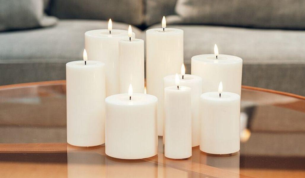 DELUXE HOMEART LED-Kerze Kerzen und Kerzenständer Dekorative Gegenstände  |