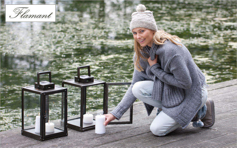 Flamant Gartenlaterne Aussenlaternen Außenleuchten Terrasse   Design Modern