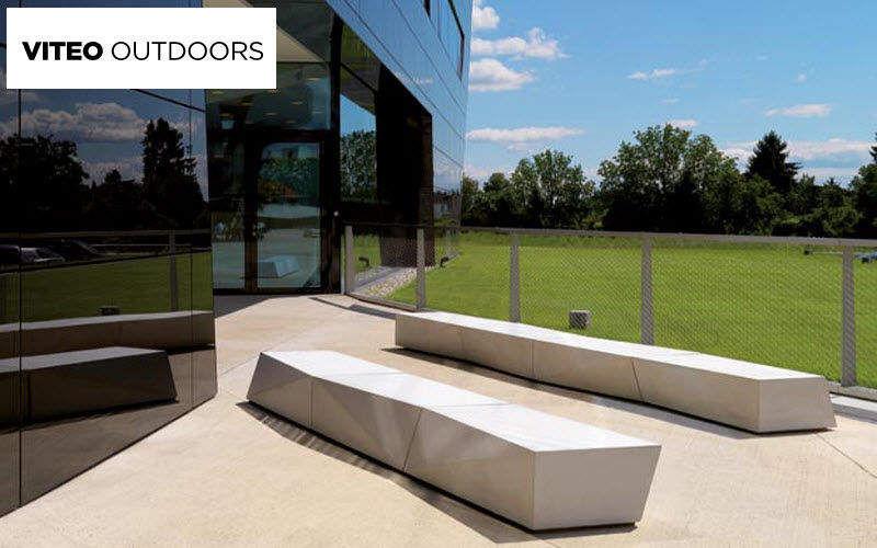 Viteo Outdoors Gartenbank Gartenbänke Gartenmöbel Garten-Pool | Design Modern