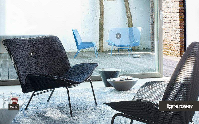 Ligne Roset Niederer Sessel Sessel Sitze & Sofas Terrasse |