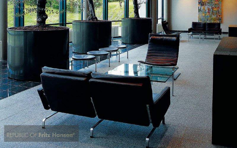Fritz Hansen Empfangs Zimmer Bürostühle Büro Arbeitsplatz |