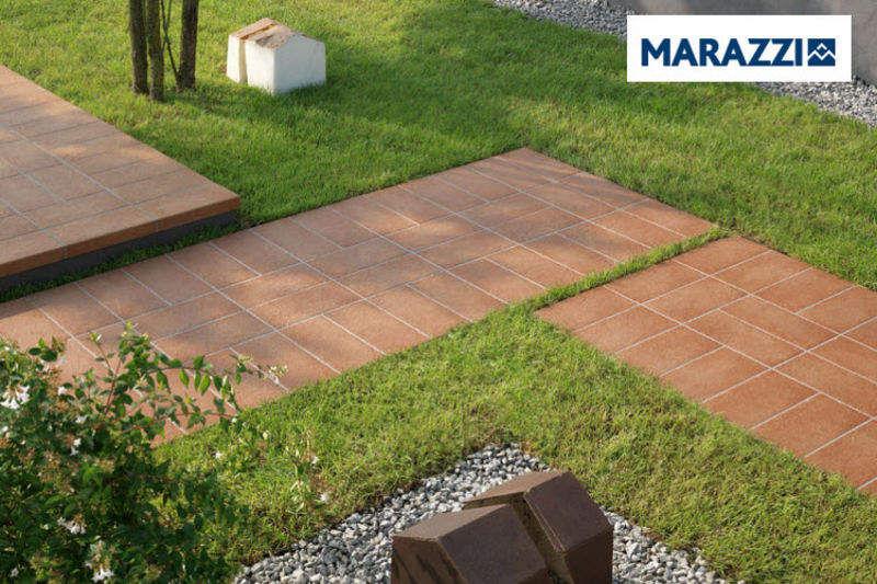 MARAZZI Bodenfliese Bodenfliesen Böden Terrasse | Design Modern