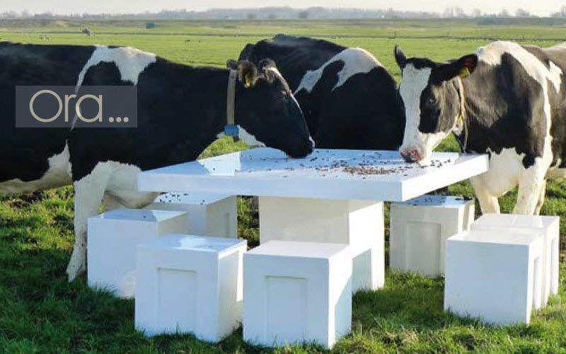 ORA HOME Picknick-Tisch Gartentische Gartenmöbel Terrasse | Design Modern