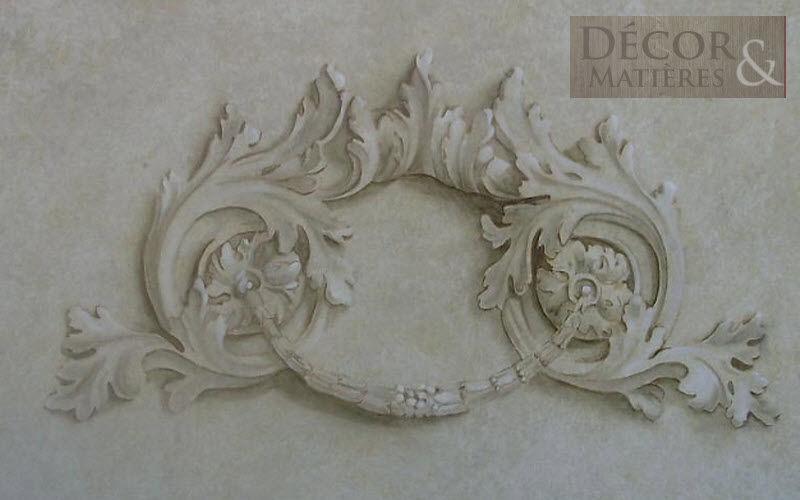 Decor et matières Trompe l'oeil Malerei Wandschmuck Verzierung  |