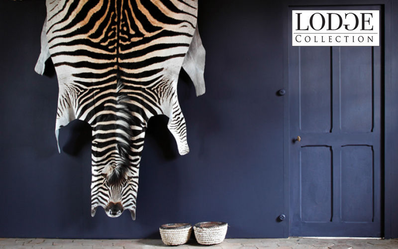 LODGE COLLECTION Zebrafell Tierfell Teppiche Eingang | Exotisch