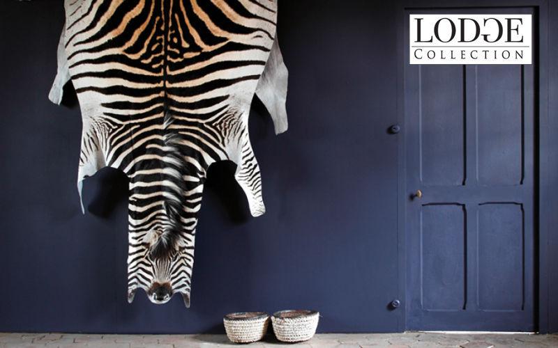 LODGE COLLECTION Zebrafell Tierfell Teppiche Eingang   Exotisch