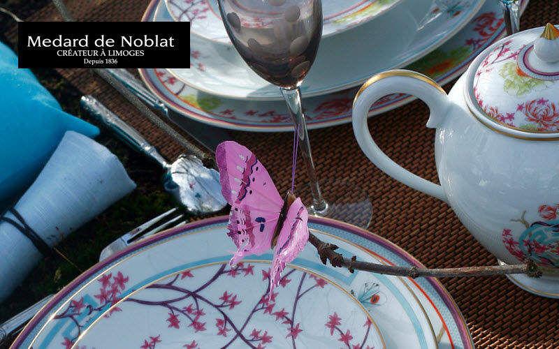 Medard De Noblat Teeservice Geschirrservice Geschirr  |