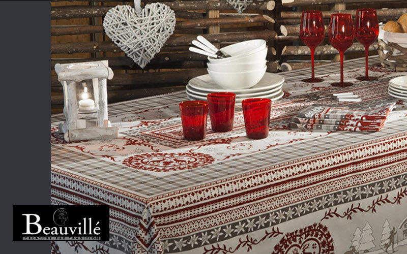 Beauville Rechteckige Tischdecke Tischdecken Tischwäsche  |