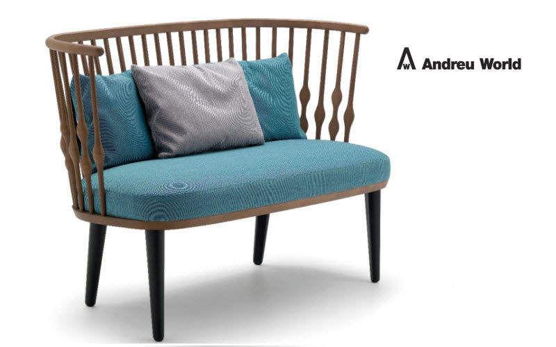 ANDREU WORLD Sofa 2-Sitzer Sofas Sitze & Sofas  |