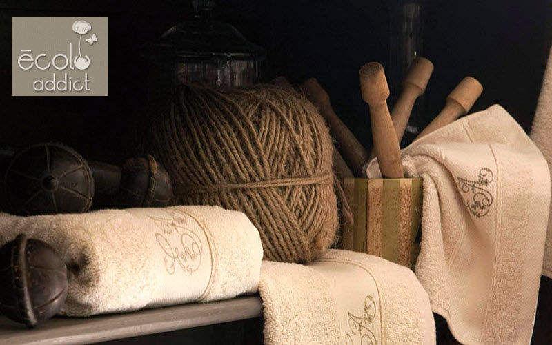 ECOLO ADDICT Handtuch Badwäsche Haushaltswäsche Badezimmer   Land