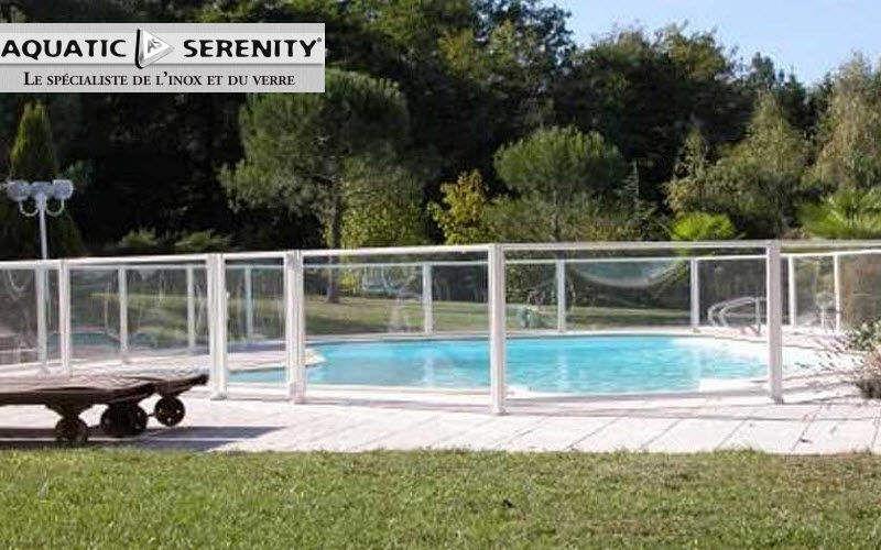 AQUATIC SERENITY Poolzaun Sicherheit Schwimmbad & Spa Garten-Pool | Design Modern
