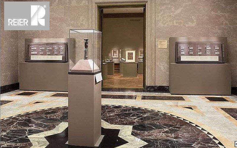REIER Museumsvitrine Profi Vitrinen Tisch  |