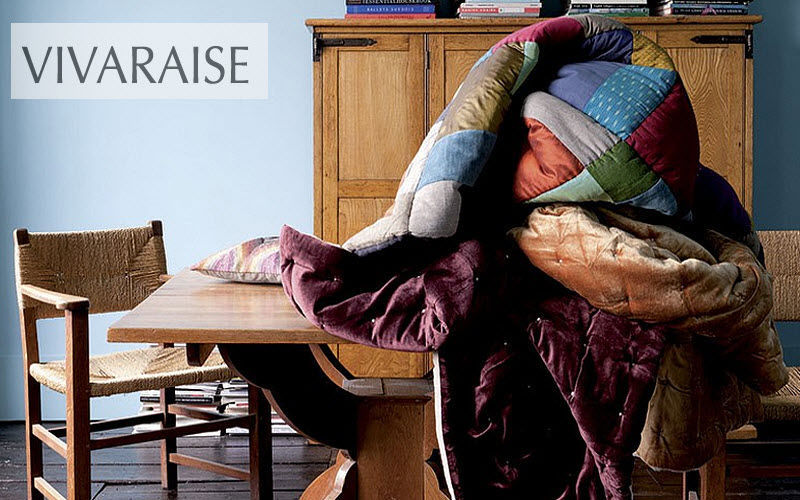 Vivaraise Federbett Bettdecken und Plaids Haushaltswäsche  |