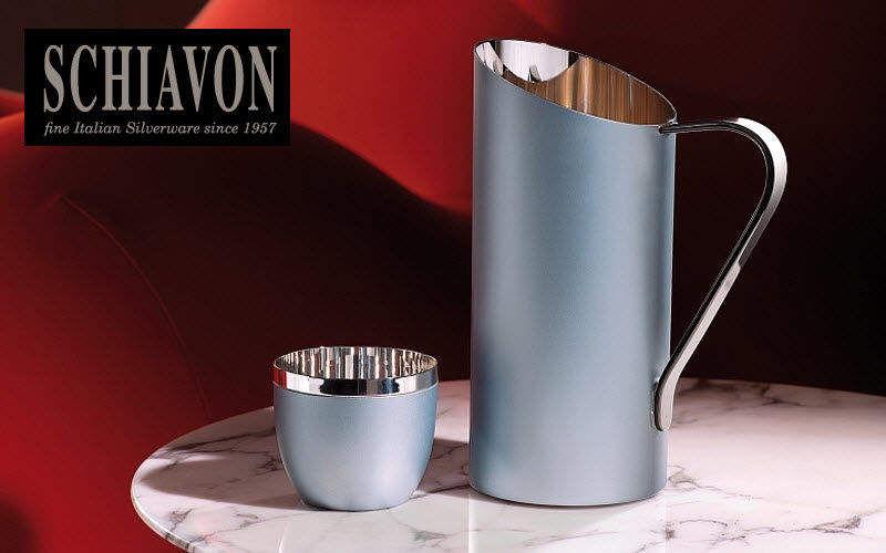 Schiavon Wasserkrug Flaschen und Karaffen Glaswaren   
