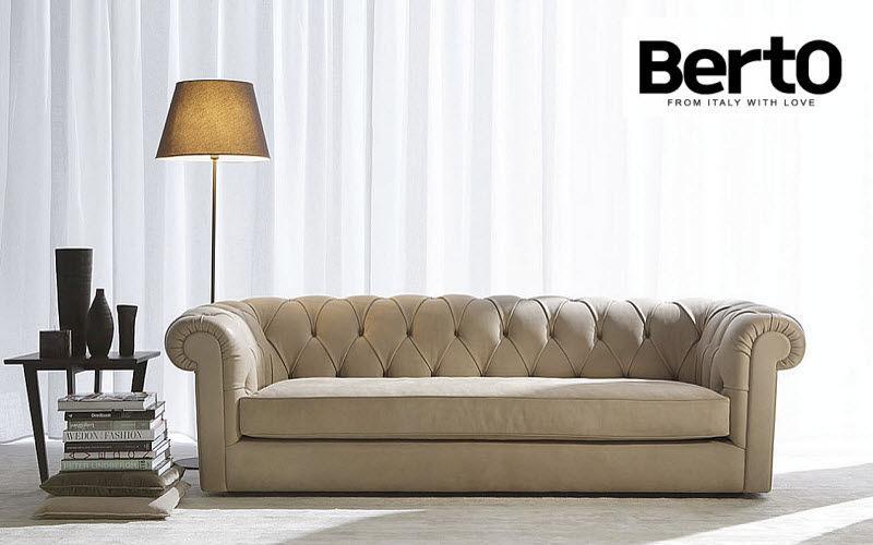 Berto Salotti Chesterfield Sofa Sofas Sitze & Sofas  |