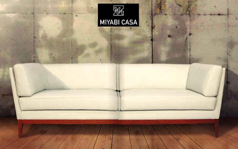 MIYABI CASA Sofa 3-Sitzer Sofas Sitze & Sofas  |