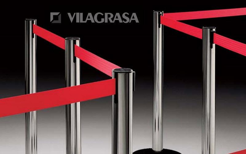 VILAGRASA Abgrenzungsständer Warteschlange Verschiedene Geräte Ausstattung  |