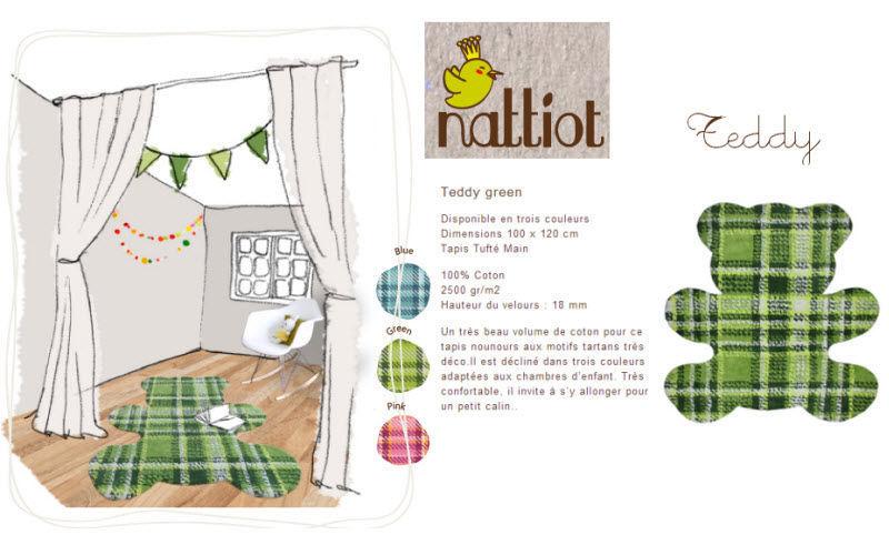 NATTIOT Kinderteppich Dekoration für Kinder Kinderecke  |