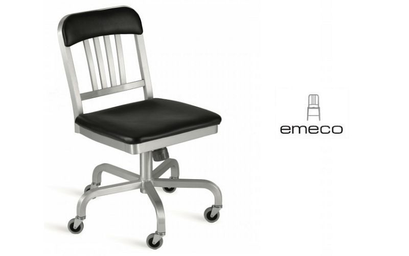 EMECO Stuhl mit Rollen Stühle Sitze & Sofas  |