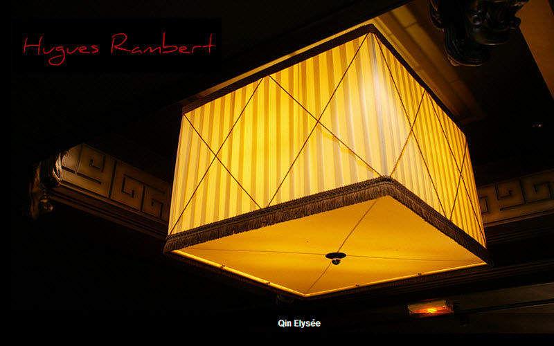Hugues Rambert Viereckiger Lampenschirm Lampenschirmen Innenbeleuchtung  |
