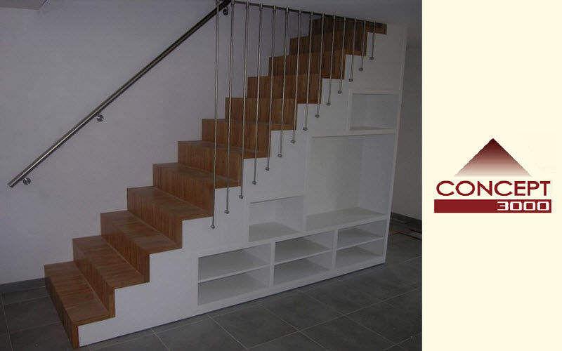 Concept 3000 Gerade Treppe Treppen, Leitern Ausstattung  |