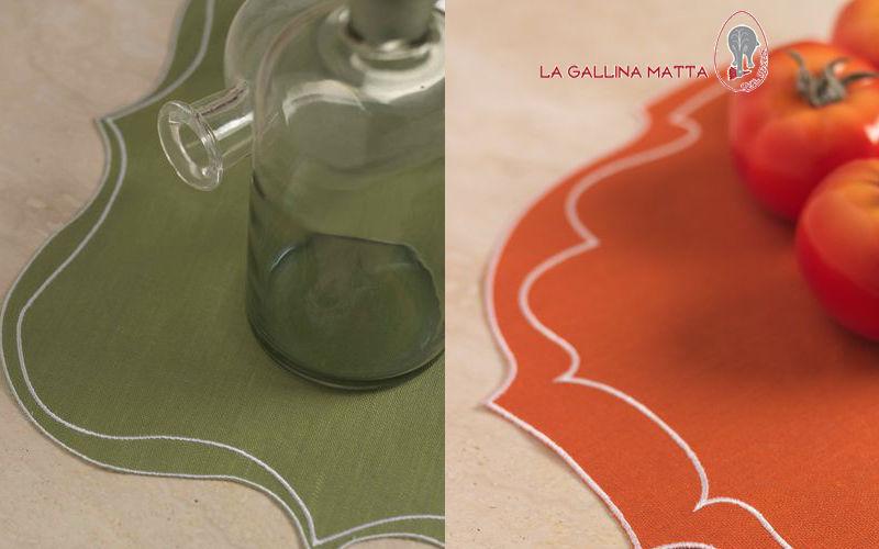 LA GALLINA MATTA Tischset Sets Tischwäsche   