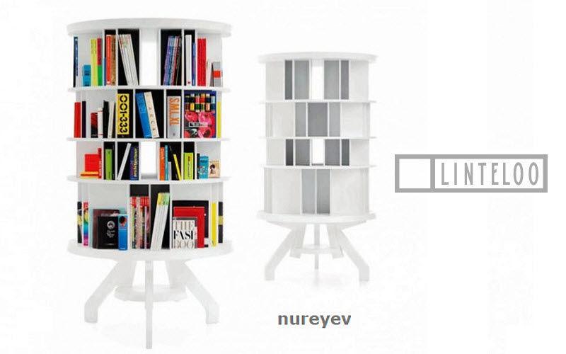 LINTELOO Dreh-Bibliothek Bücherregale Regale & Schränke  |
